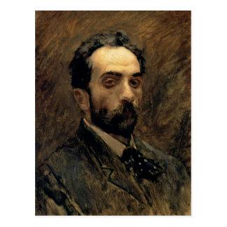 Självporträtt 1890s vykort