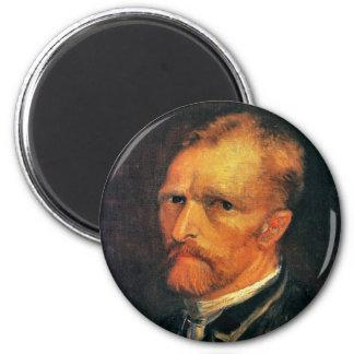 Självporträtt av Vincent Van Gogh 1886 Magnet