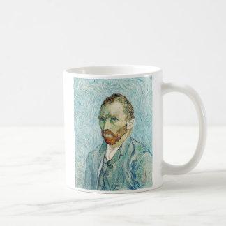 Självporträtt av Vincent Van Gogh Kaffemugg