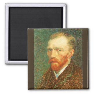 Självporträtt av Vincent Van Gogh Magnet