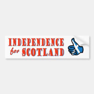 Självständighet för den Skottland bildekalet Bildekal