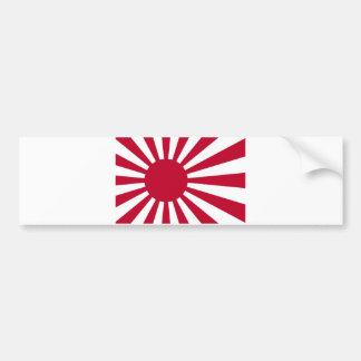 Sjö- Ensign av Japan - japansk resningsolflagga Bildekal