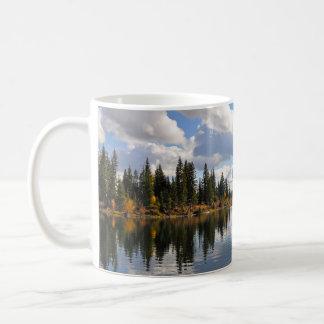Sjö- och skogplats kaffemugg