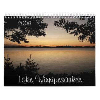 Sjö Winnipesaukee, 2009 Kalender