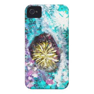 Sjöbotten för abstrakt för turkoskorallrev iPhone 4 hud