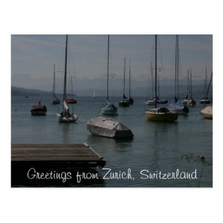 SjöfartygZurich vykort