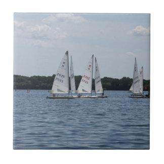 SjöHarriet segelbåtar Kakelplatta