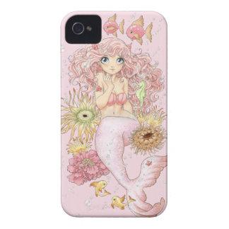 Sjöjungfru (rosor) iPhone 4 Case-Mate fodraler