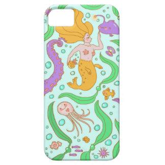 Sjöjungfru- & sjögräsmönster iPhone 5 Case-Mate skal