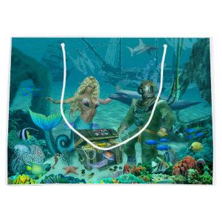 Sjöjungfru skatt för korallrev