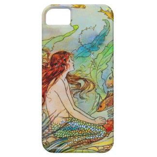 Sjöjungfruillustration av Elenore Abbott iPhone 5 Case-Mate Fodraler