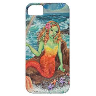 """Sjöjungfruiphone case """"på för stenarna"""" av Kathi iPhone 5 Cases"""