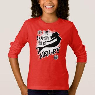 Sjöjungfrujul T-shirt