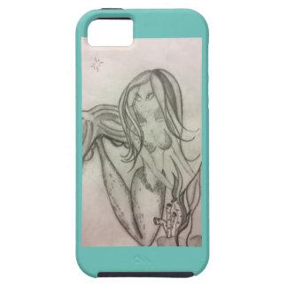 sjöjungfrukärlek iPhone 5 fodraler