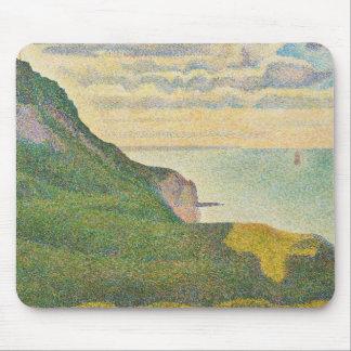 Sjölandskap på Port-en-Bessin, Normandy, 1888 Musmatta