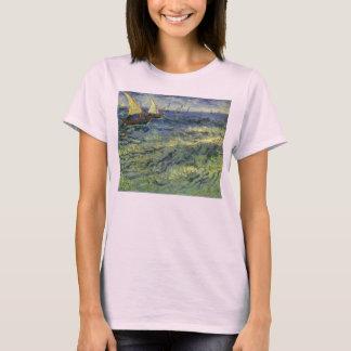 Sjölandskap på Saintes Maries av Vincent Van Gogh T Shirts