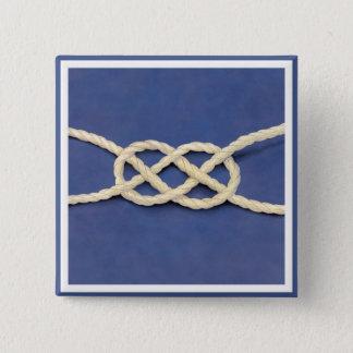 Sjöman fnurra - Carrick krökning Standard Kanpp Fyrkantig 5.1 Cm