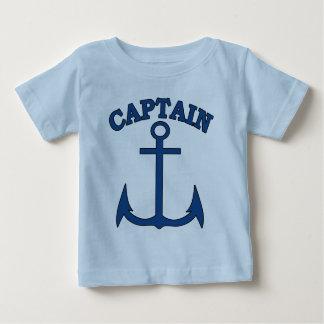 Sjömankaptenblått ankrar pojkeT-tröja T-shirts