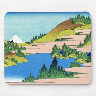Sjön av Hakone i det Segami landskapet Hokusai Mus Matta
