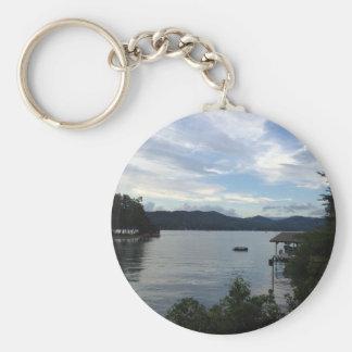 Sjön Burton beskådar Rund Nyckelring