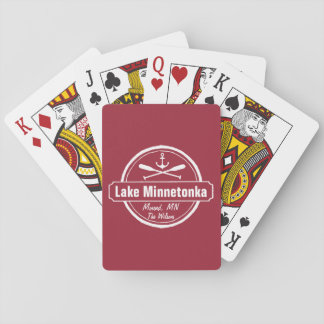 Sjön Minnetonka Minnesota ankrar townen och namn Casinokort