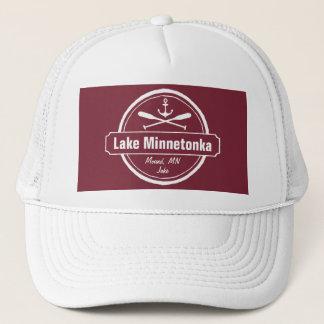 Sjön Minnetonka Minnesota ankrar townen och namn Keps