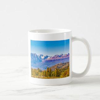Sjön och berg landskap, Patagonia, Chile Kaffemugg
