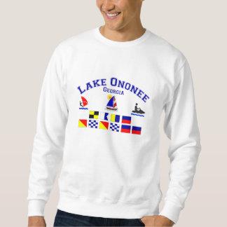 Sjön Ononee GA signalerar flaggor Lång Ärmad Tröja