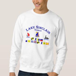 Sjön Sinclair GA signalerar flaggor Sweatshirt