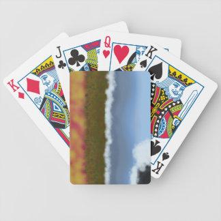 Sjön vinkar leka kort spelkort