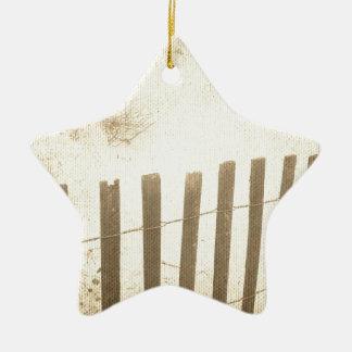 Sjösidastrandstaket Julgransprydnad Keramik