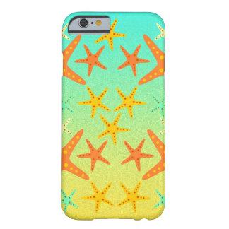 Sjöstjärna på stranden barely there iPhone 6 fodral