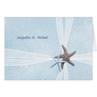 Sjöstjärnan kopplar ihop gåvan boxas brölloptack OBS kort