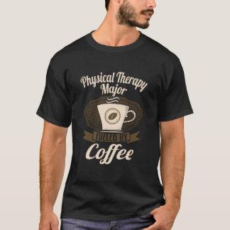 Sjukgymnastik ha som huvudämne tankat av kaffe tee shirt