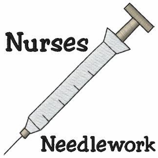 Sjuksköterska broderad skjorta