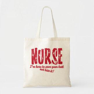 Sjuksköterska Budget Tygkasse