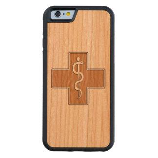 Sjuksköterska Carved Körsbär iPhone 6 Bumper Skal