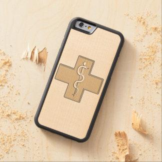Sjuksköterska Carved Lönn iPhone 6 Bumper Skal