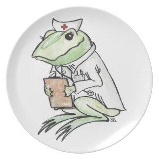 Sjuksköterska Frogly Tallrik