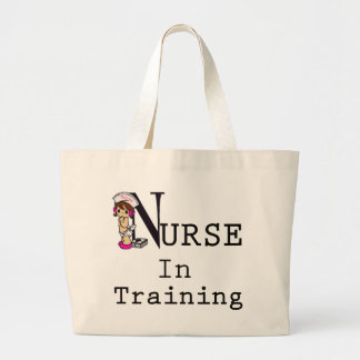 Sjuksköterska i utbildning jumbo tygkasse