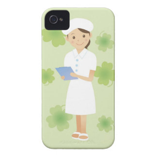 Sjuksköterska iPhone 4 Fodraler