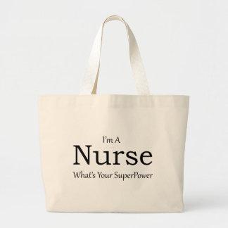 Sjuksköterska Jumbo Tygkasse