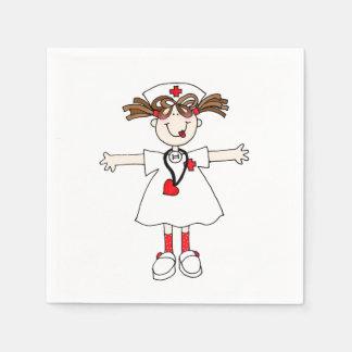Sjuksköterska Servett