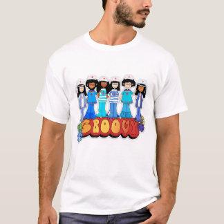 Sjuksköterska skjorta för dag T - Groovy Tshirts