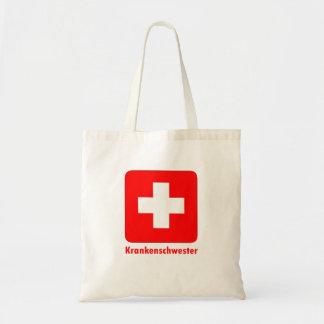 Sjuksköterska-Tysk Budget Tygkasse