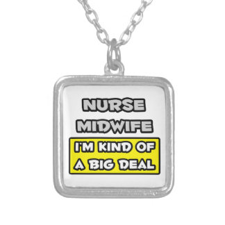 Sjuksköterskabarnmorska. I'm sort av en stor övere Anpassningsbar Halsband