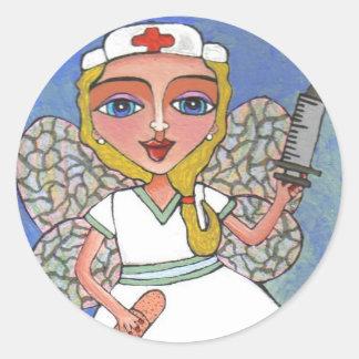 Sjuksköterskafe - klistermärke