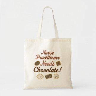 Sjuksköterskapraktiker behöver choklad tygkasse