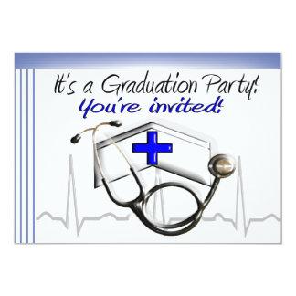 Sjuksköterskastudentfestinbjudningar Kort För Inbjudningar