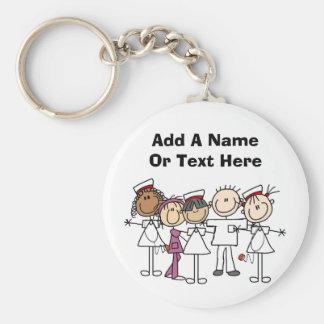 SjuksköterskaveckaT-tröja och gåvor Rund Nyckelring